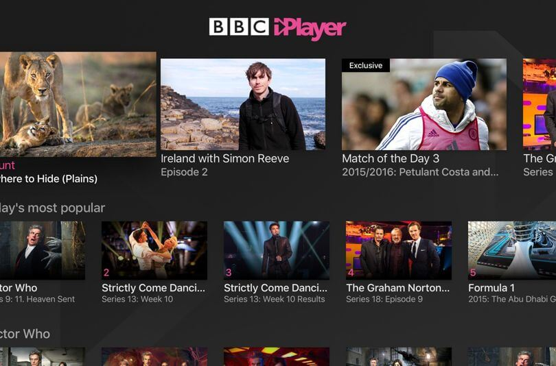 bbc iplayer in canada