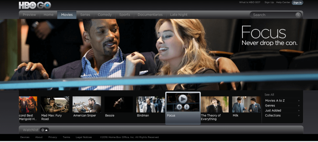 How to watch HBO Go In Canada