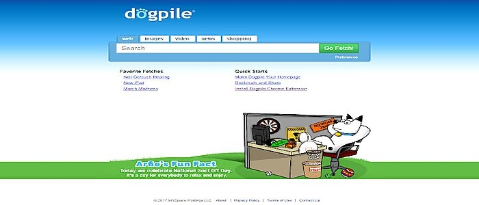 Dogpile- search engine in canada