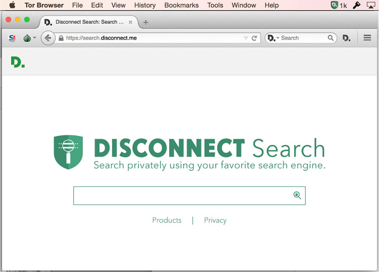 Disconnect-Search- browser in canada