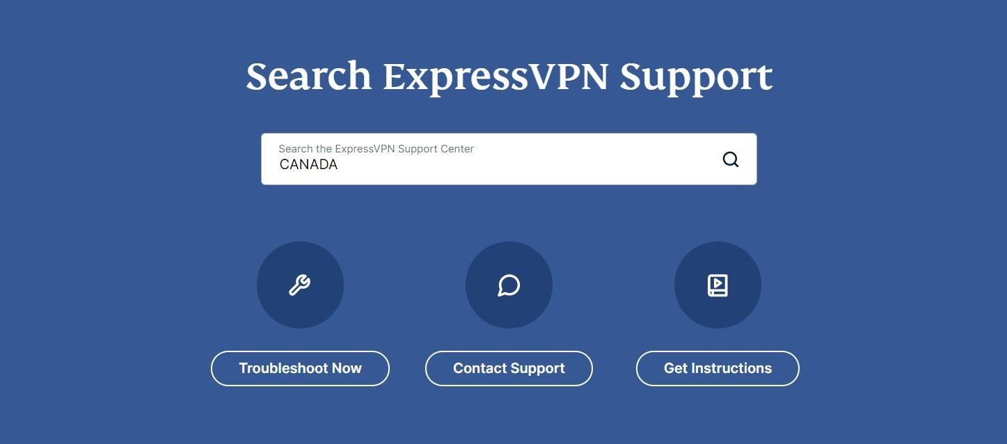 ExpressVPN Customer Support