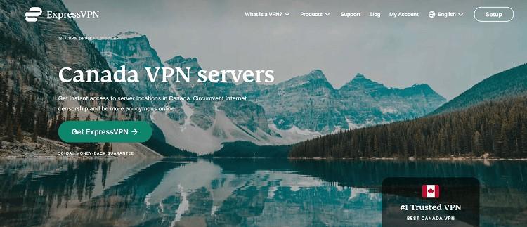 ExpressVPN Canada Servers