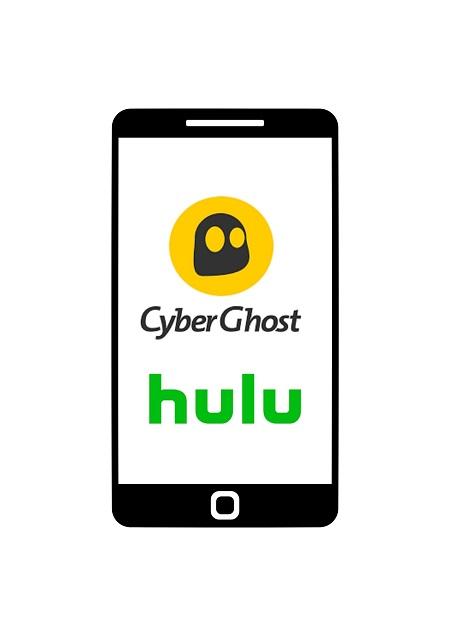 Hulu with CyberGhost VPN