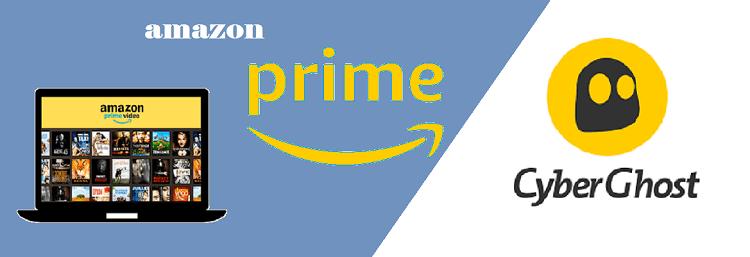 CyberGhost for American Amazon prime in canada