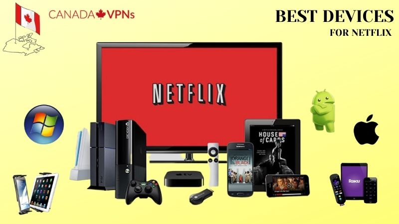 Devices for US Netflix in Canada