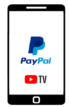 PayPal for youtube tv canada