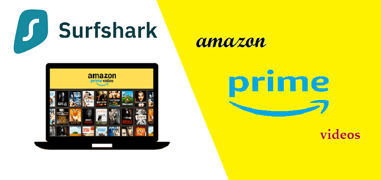 Surfshark for American Amazon prime in canada
