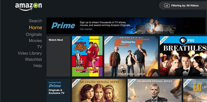 amazon prime us only content