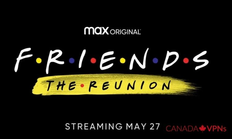 Friends Reunion at HBO Max