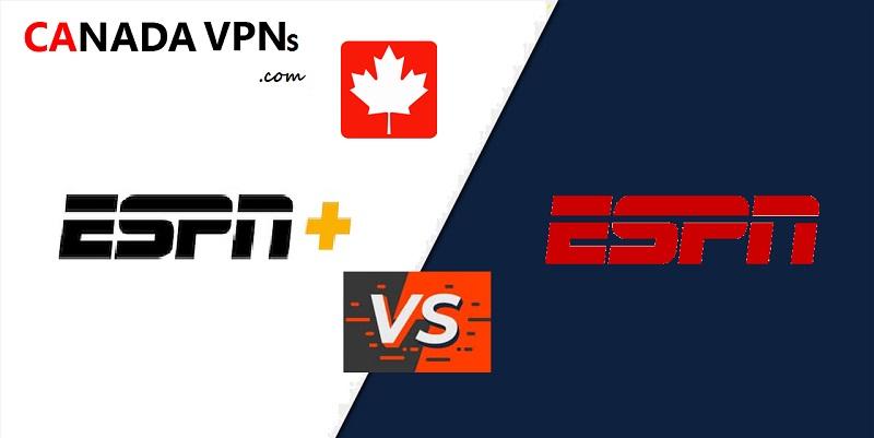 ESPN+ vs ESPN