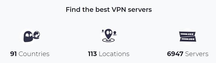 CyberGhost VPN servers