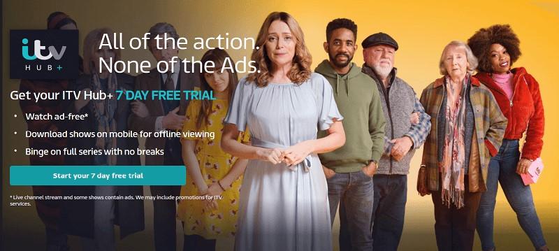 ITV Hub plus Canada