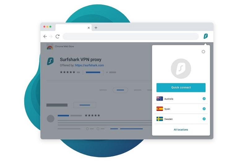 Surfshark VPN Browser Extension