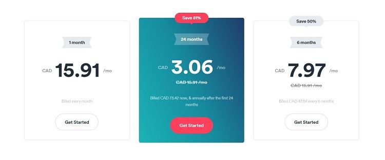 Surfshark VPN Pricing Plans