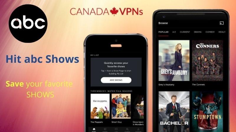 ABC go app in Canada
