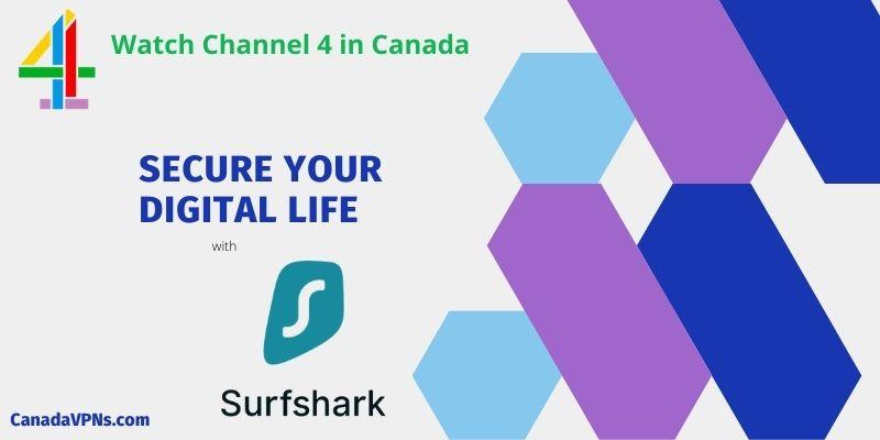 All 4 in Canada- Surfshark vpn