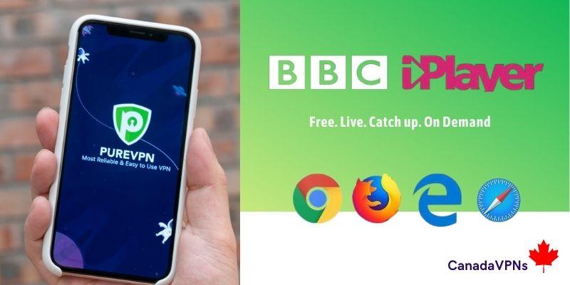 BBC iPlayer Canada -PureVPN
