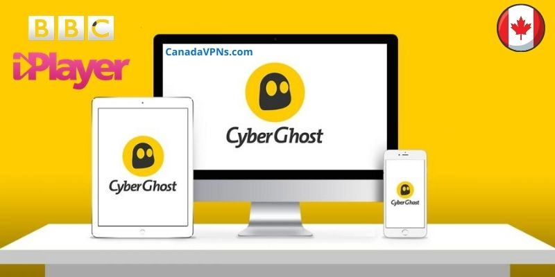 BBC iPlayer with CyberGhost in Canada