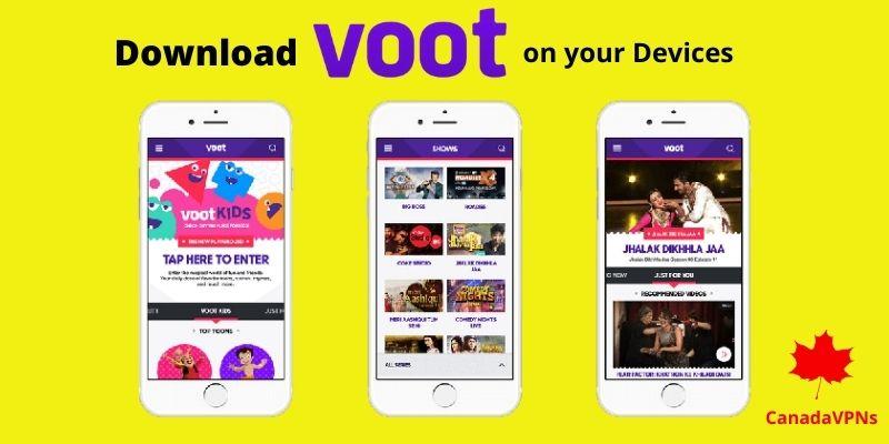 Voot Select app Canada