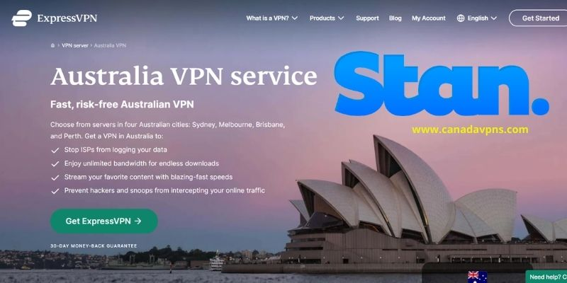 ExpressVPN - Stan VPN for Canada