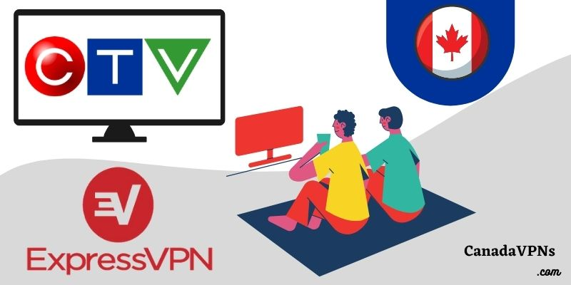 ExpressVPN to watch CTV outside Canada