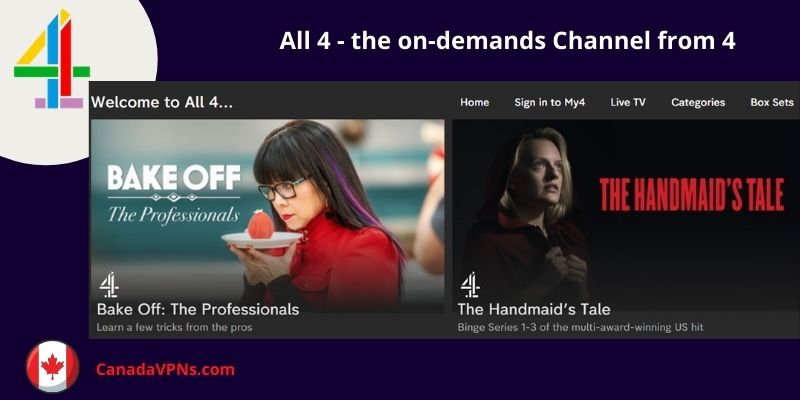 How to watch Channel 4 in Canada