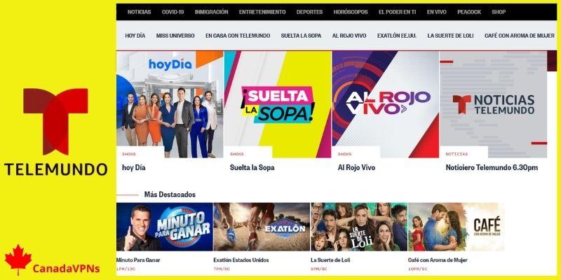 How to watch Telemundo in Canada