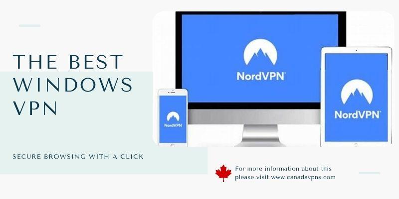 NordVPN-Windows 10 vpn app