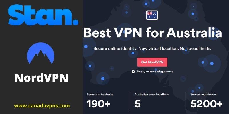 NordVPN- Stan Canada VPN