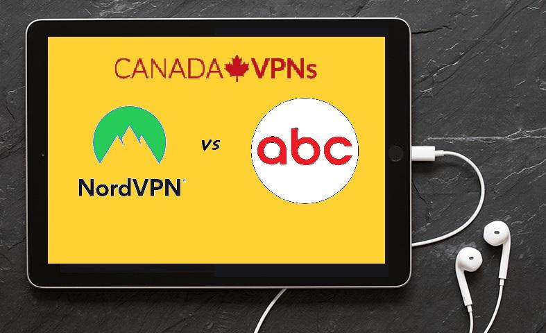 NordVPN to watch ABC outside USA