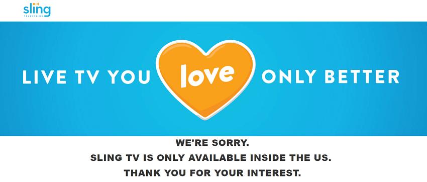 Sling tv error
