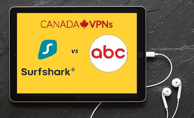 Surfshark to watch ABC in Canada