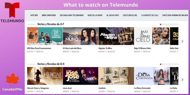 Telemundo Shows