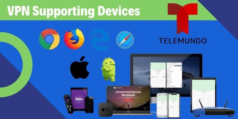 Telemundo on Devices