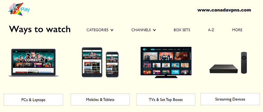 UKTV Play devices