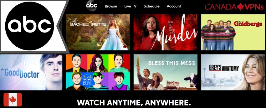 how to watch ABC in Canada