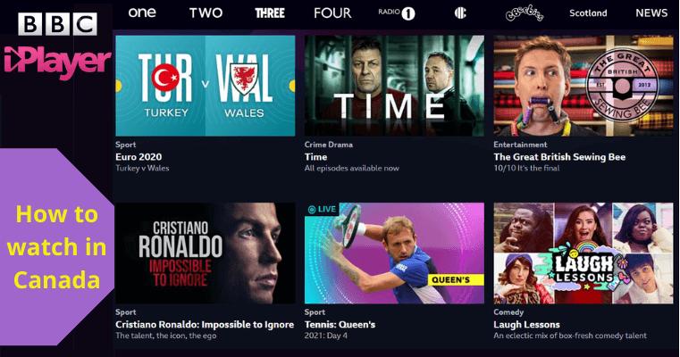 watch BBC iPlayer Canada