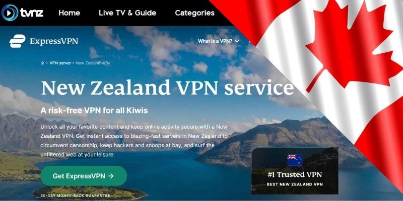 ExpressVPN - New Zealand IP address