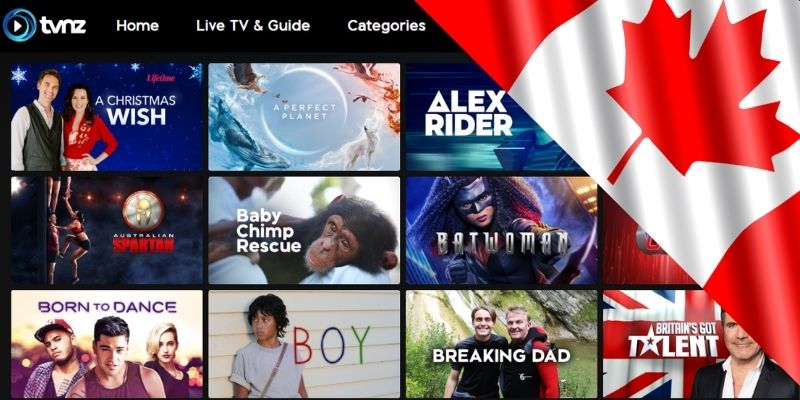 How to watch tvnz in Canada