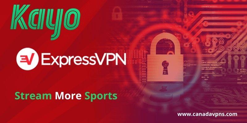 Kayo Sports- ExpressVPN server