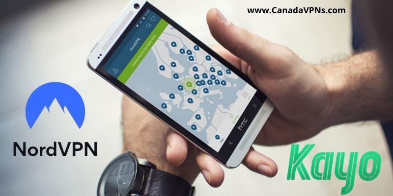 NordVPN Canada- Kayo sports access