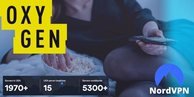 NordVPN Canada- Watch Oxygen tv