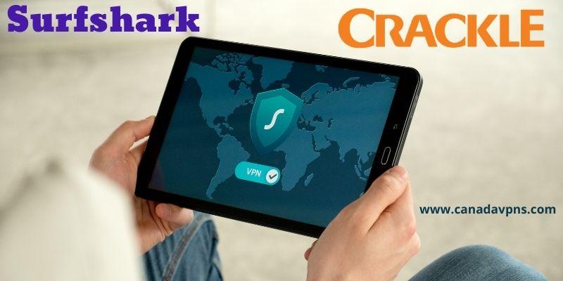 Surfshark VPN - Crackle Canada