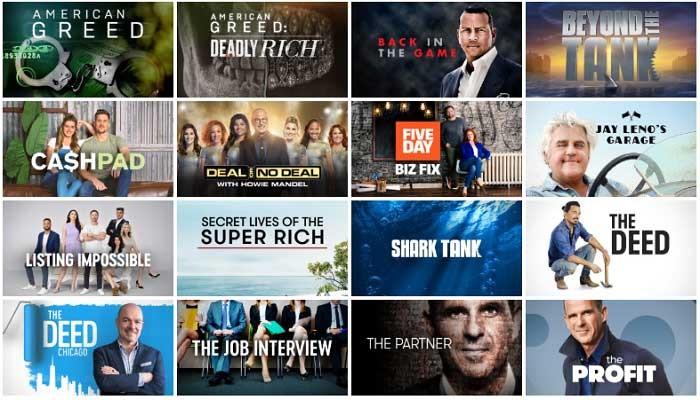 CNBC Shows 2021
