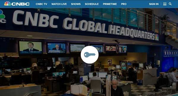 CNBC geo-restriction in Canada