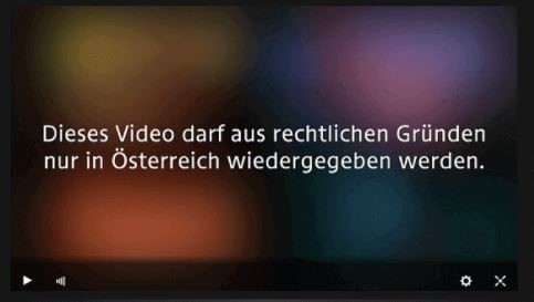 ORF geo-restriction