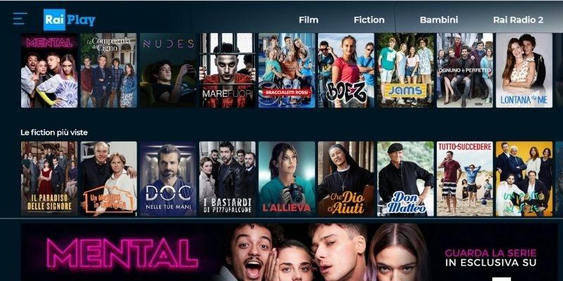 Rai TV channels 2021