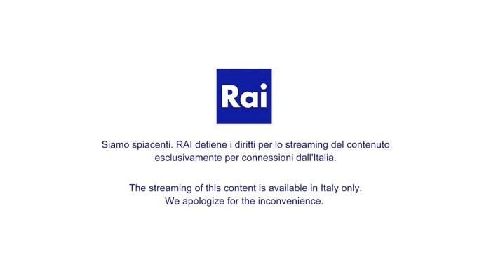 Rai TV geo-restriction