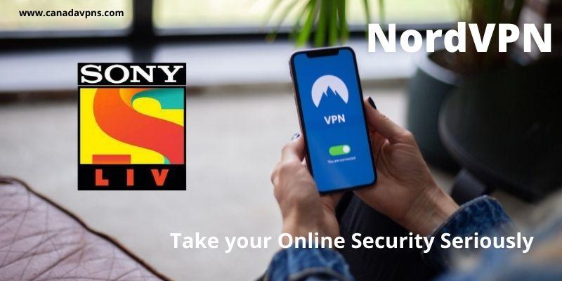 Sony shows online-NordVPN