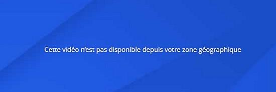 TF1 geo restriction